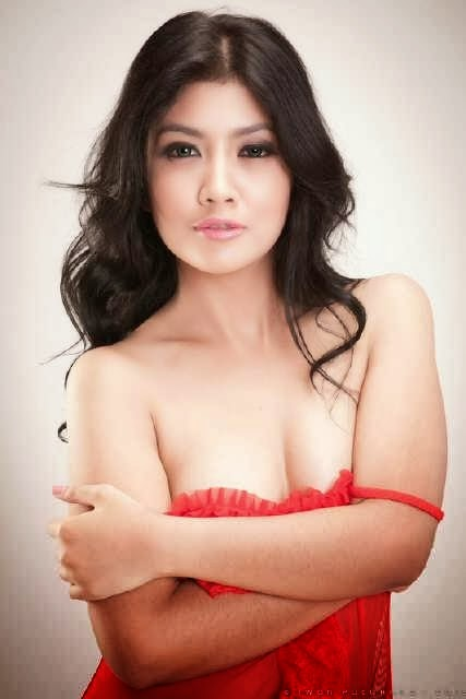Mbak Winda Model Panas 2014