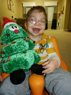 Christmas toy for special needs child