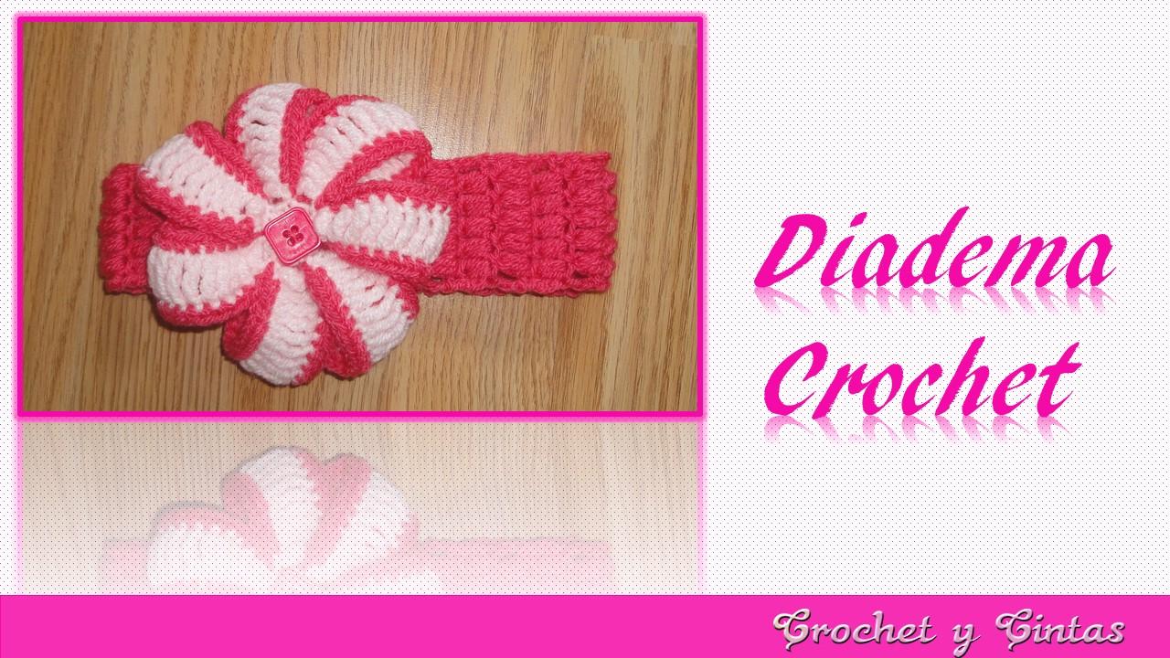 Diadema punto puff tejida a crochet ganchillo crochet - Diademas de ganchillo ...