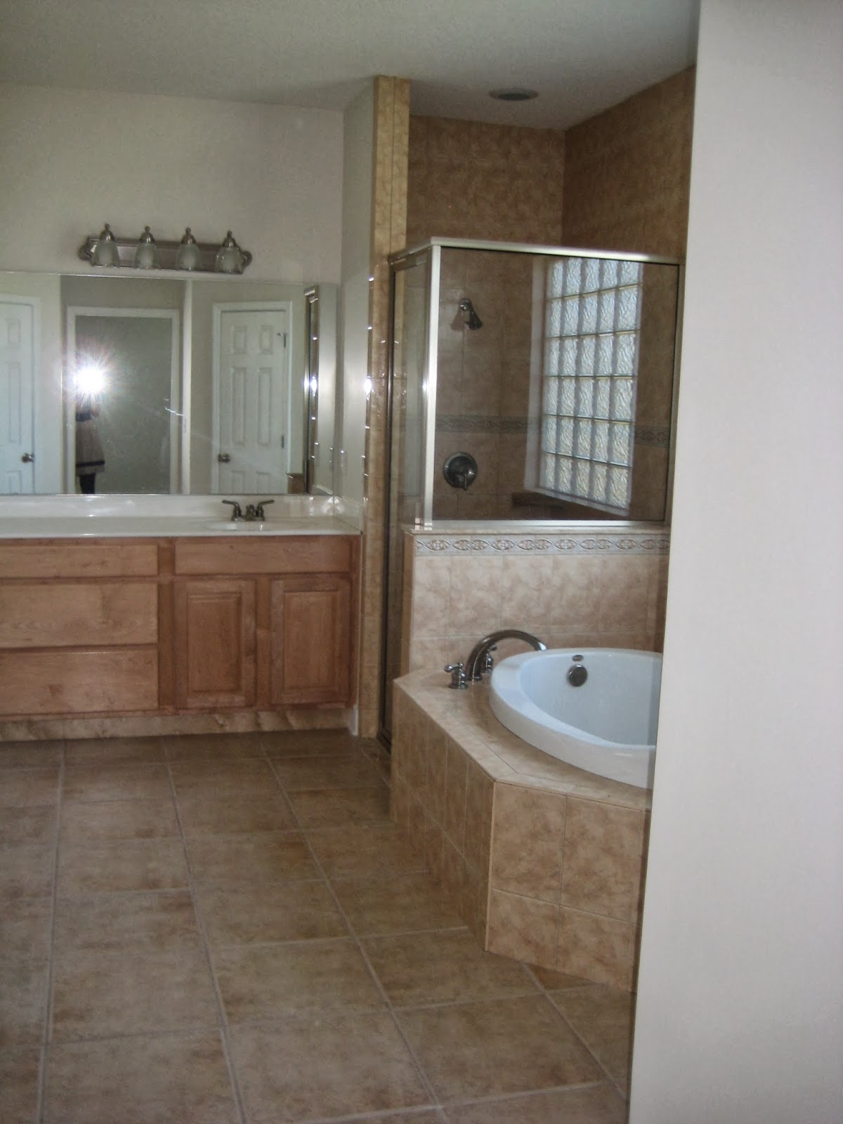 Lipstick and a brad nailer are the only essentials bathroom bathroom shower done dailygadgetfo Gallery