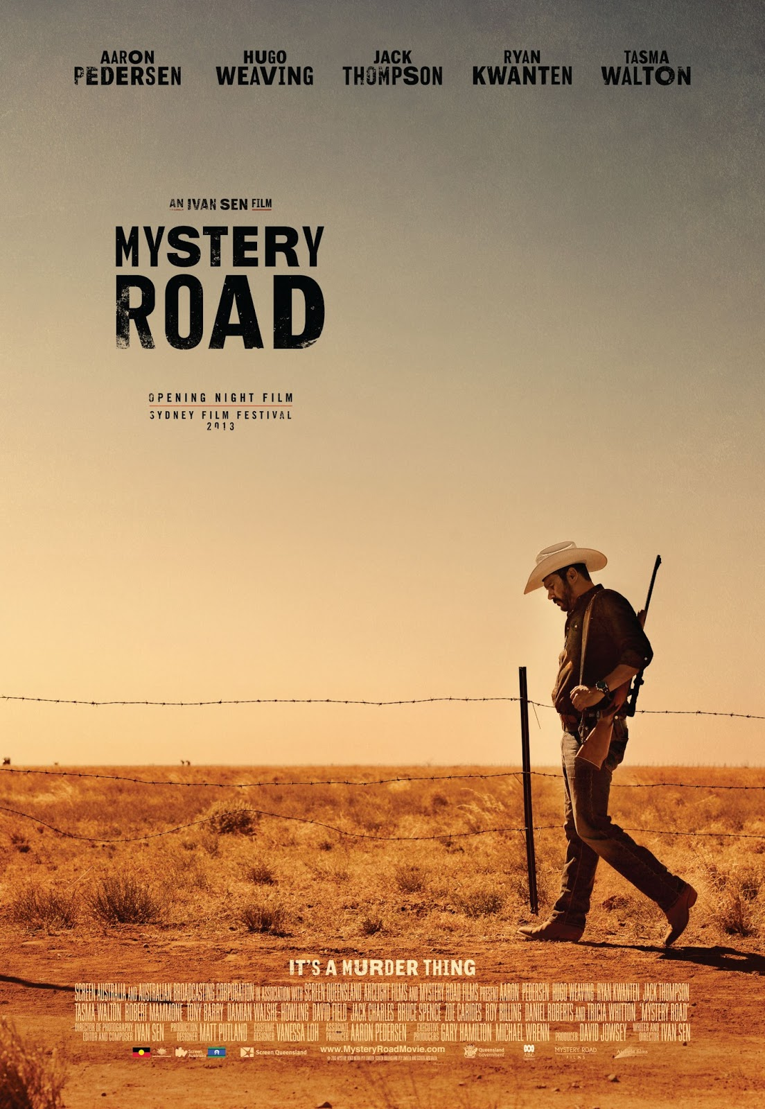 Anatomy of a film poster: MYSTERY ROAD | A Life In Film