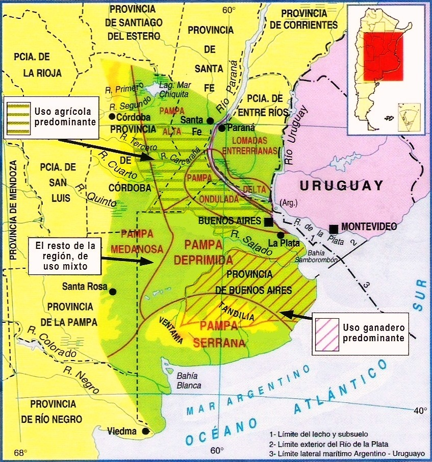 geografia pampeana: