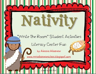 http://www.teacherspayteachers.com/Product/Write-the-Room-Literacy-Center-Nativity-1018957