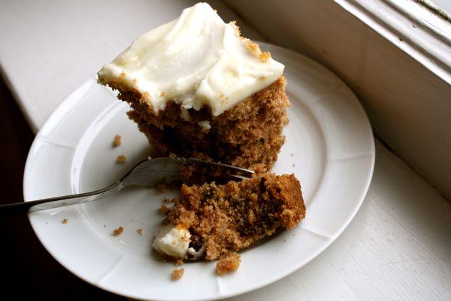... Applesauce cake, apple pie, apple roly-poly, plain old applesauce