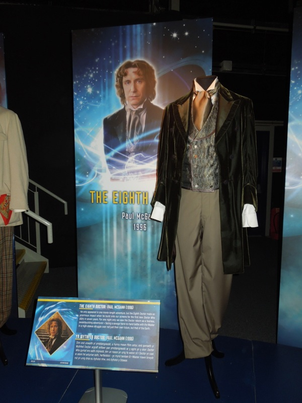 Paul McGann Eighth Doctor Who costume