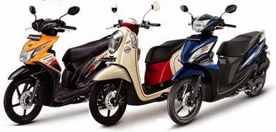 Honda BeAT vs Honda Scoopy vs Honda Spacy