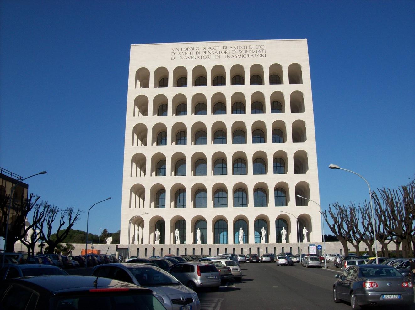 la historia que cont en mis clases arquitectura fascista