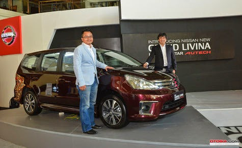 Harga Terbaru All New Grand Livina Autech 2014