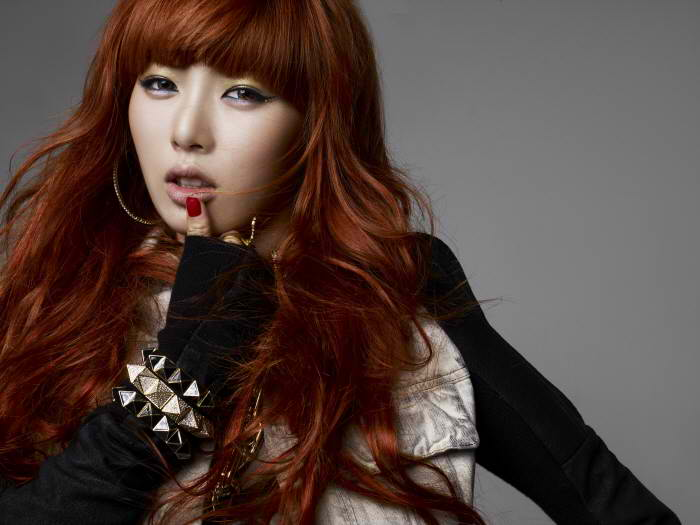 K-POP: Hyuna (4Minute) - HuH (Photoshoot)