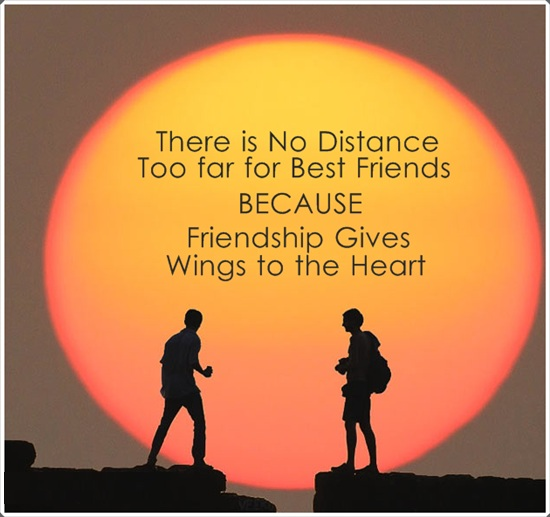 Quotes Friendship Distance Time : Excellent quotes with images pictures uplifting quote on best friends image