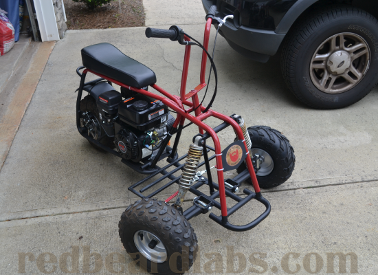 Custom Mini Trike Car Interior Design