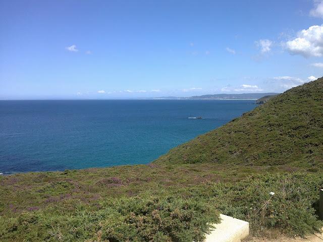 Vistas al mar en los Molinos de Ardeleiro en Malpica Costa da Morte
