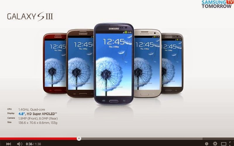 Beredar Video Evolusi Samsung Galaxy S di Youtube