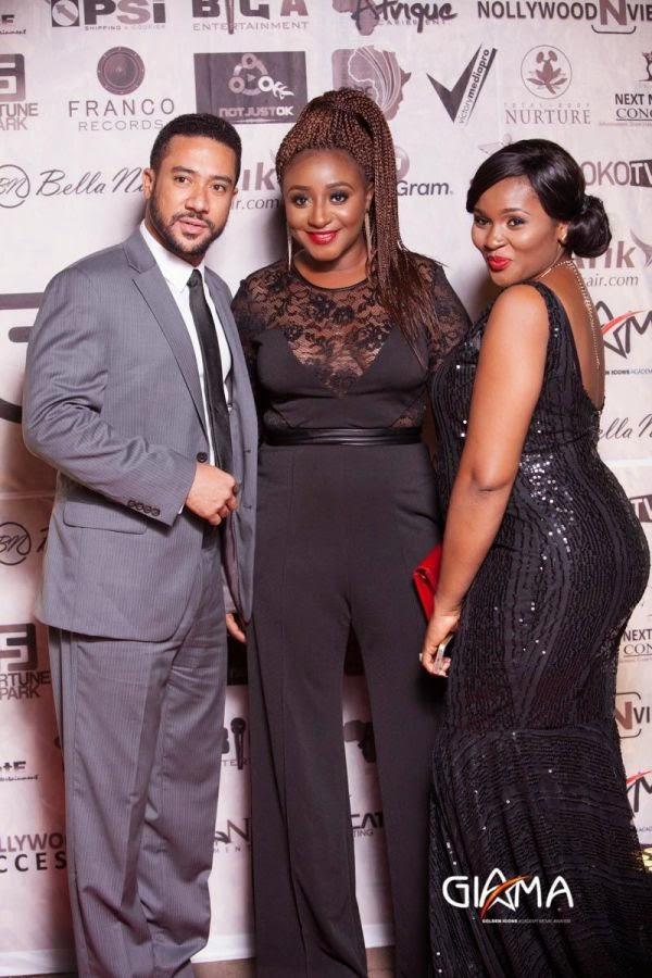 Ini Edo, Mbong Amata, Stella Damasus, Daniel Ademinokan, Others At The 2014 GIAMA Awards – Photos