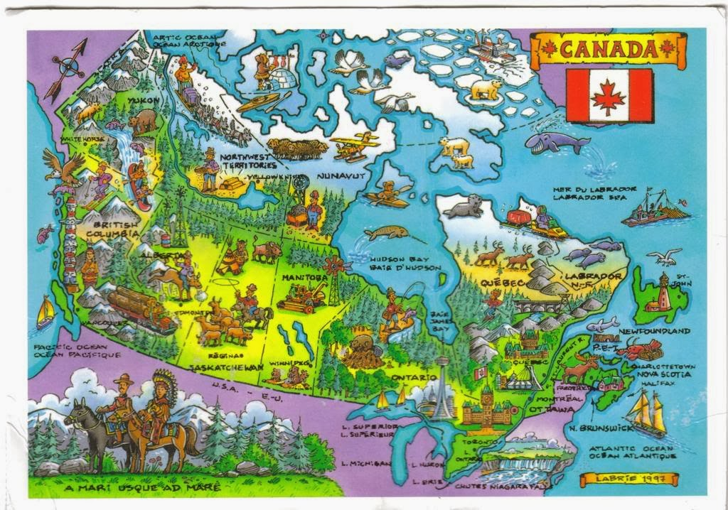 Free Sample College Admission Canadian Geography Homework Help - Canada geography map