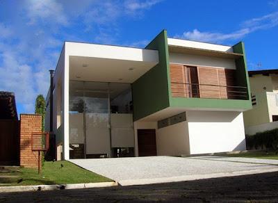 Gambar Contoh Model Rumah Mewah