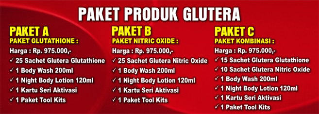 Harga Paket Glutera