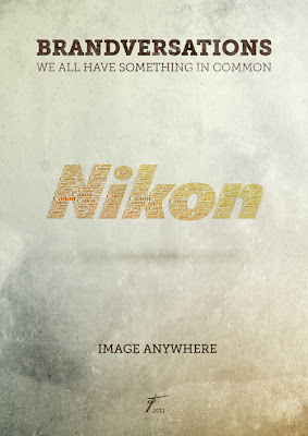 old school illustration - nikon ads