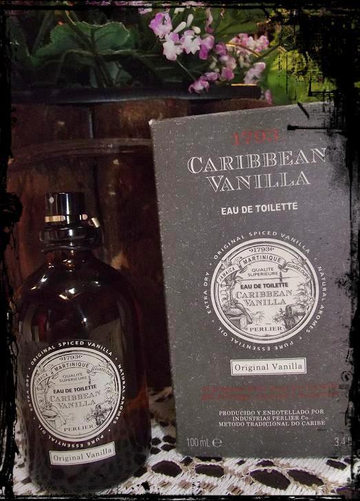 PERFUME COM BAUNILHA CARIBBEAN VANILLA