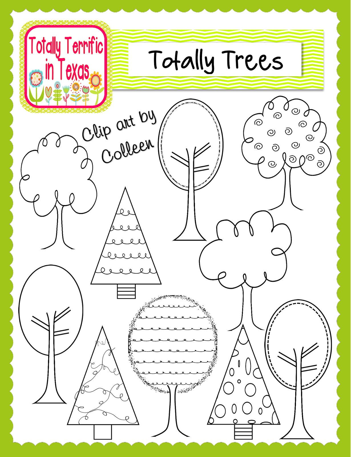 http://www.teacherspayteachers.com/Product/Totally-Trees-Clip-Art-1010482