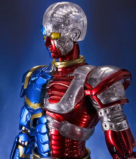 bandai action figure kikaider series