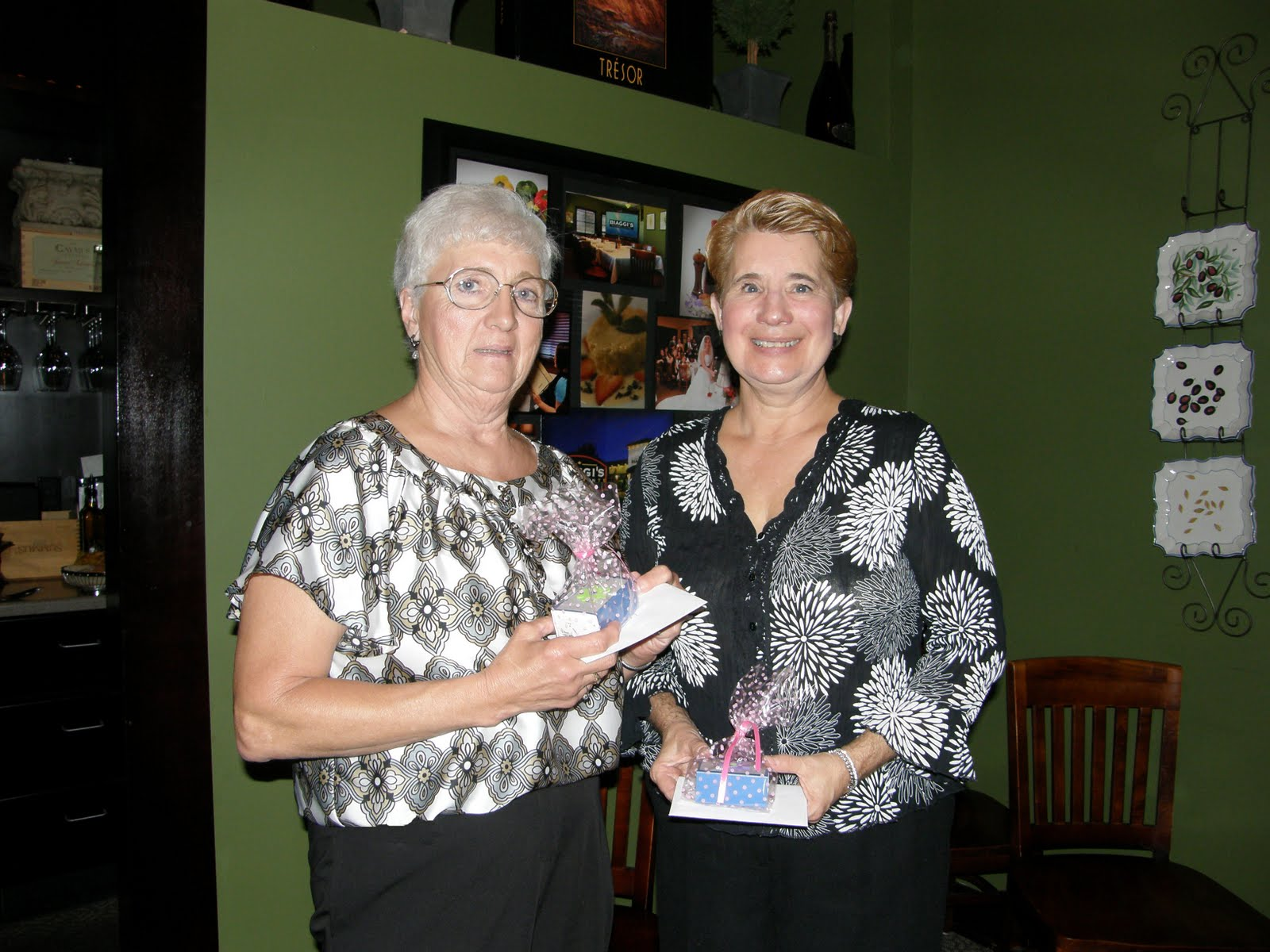 Outgoing officers, Jan (Recording Secretary) & Donna (Vice President ...