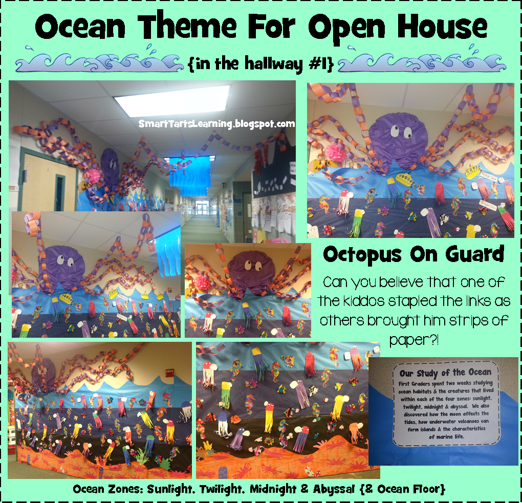 SmartTartsLearning: We Went TOTALLY Overboard for our Ocean Themed ...