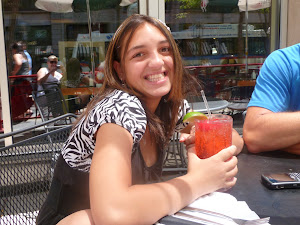 Vera 16th St Mall sippin a Shirley Temple