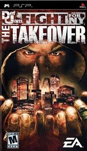 Def Jam - Fight For Ny - The Takeover - PSP - ISO Download