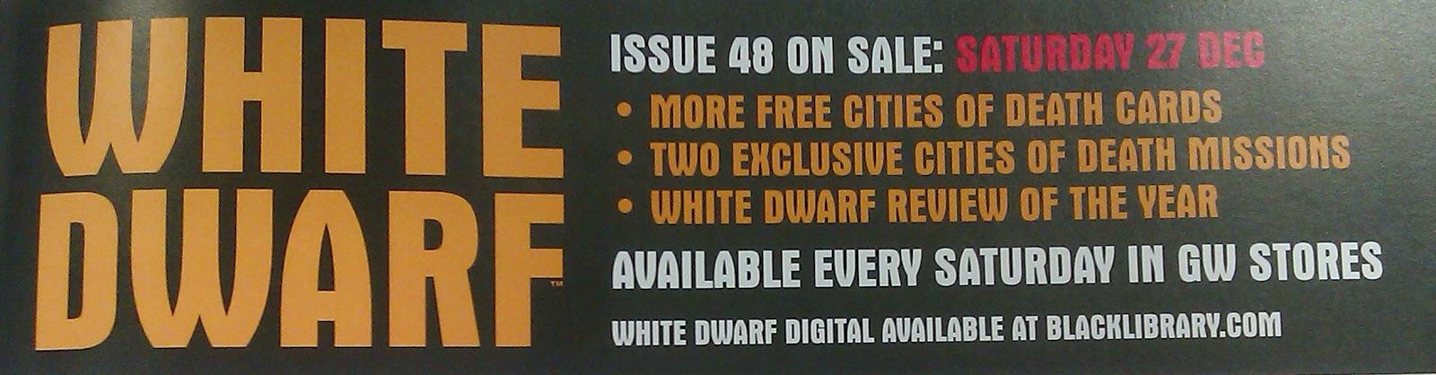 Adelanto de la White Dwarf Weekly número 48
