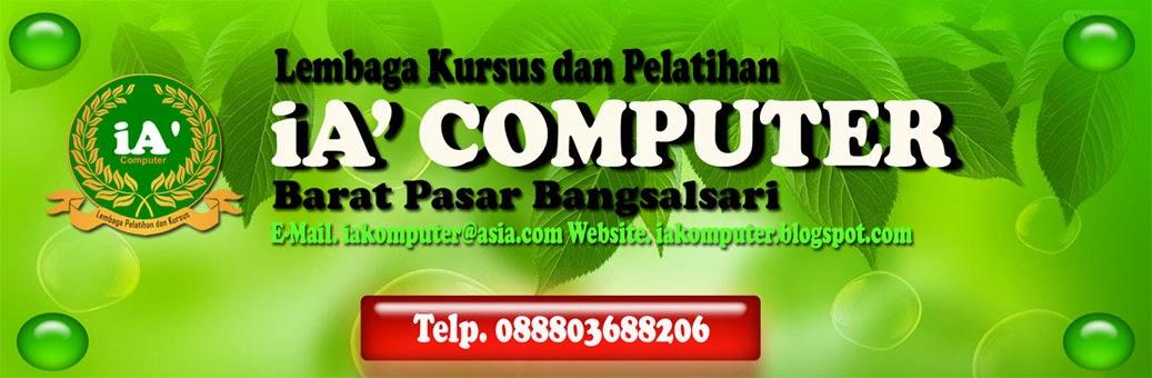 Tempat Belajar Komputer di Kecamatan Bangsalsari