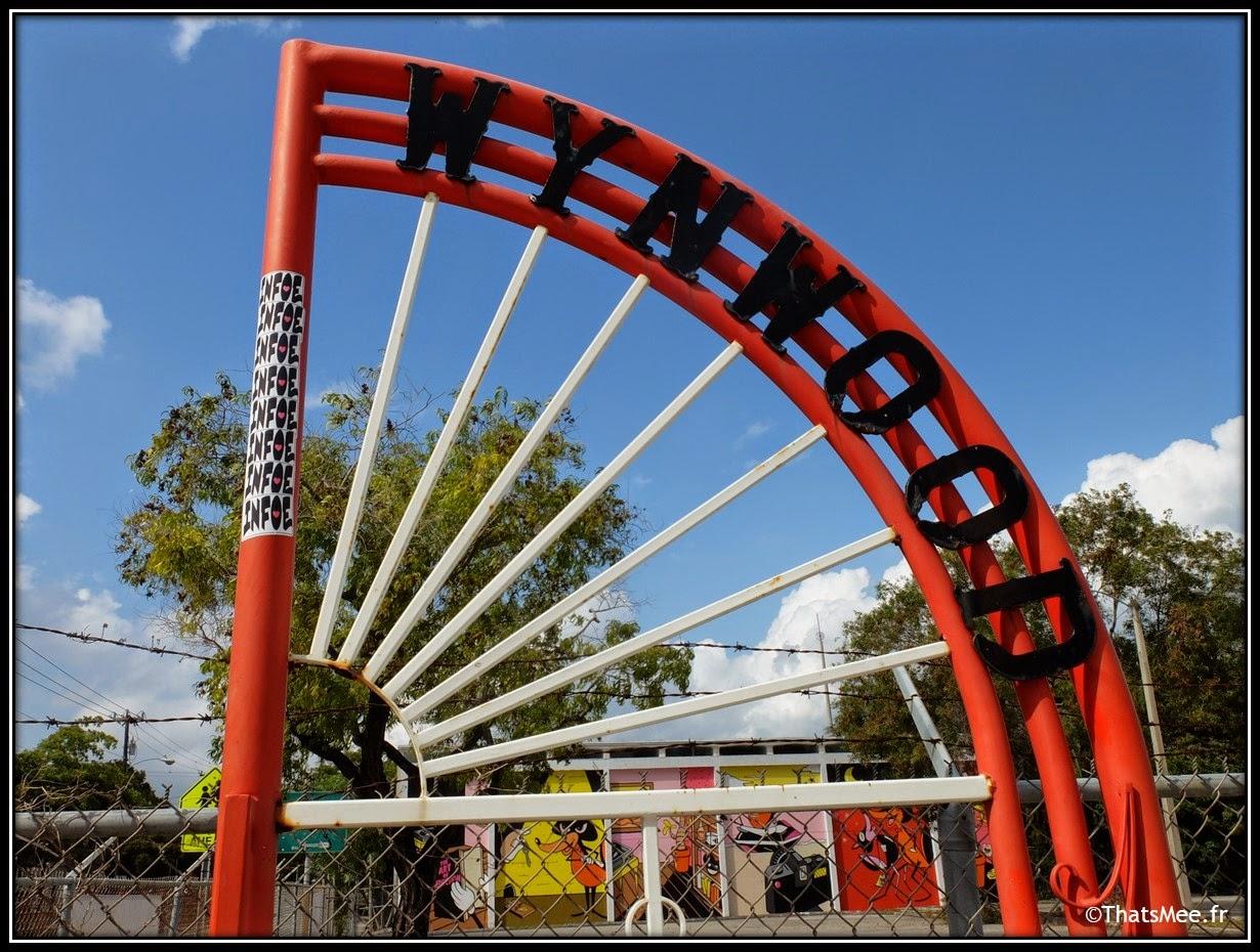 Wynwood art district Gate miami
