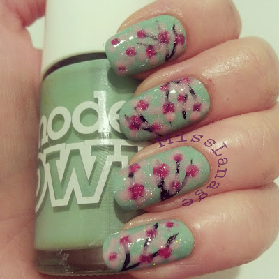 crumpets-33-day-challenge-chinese-blossom-nail-art