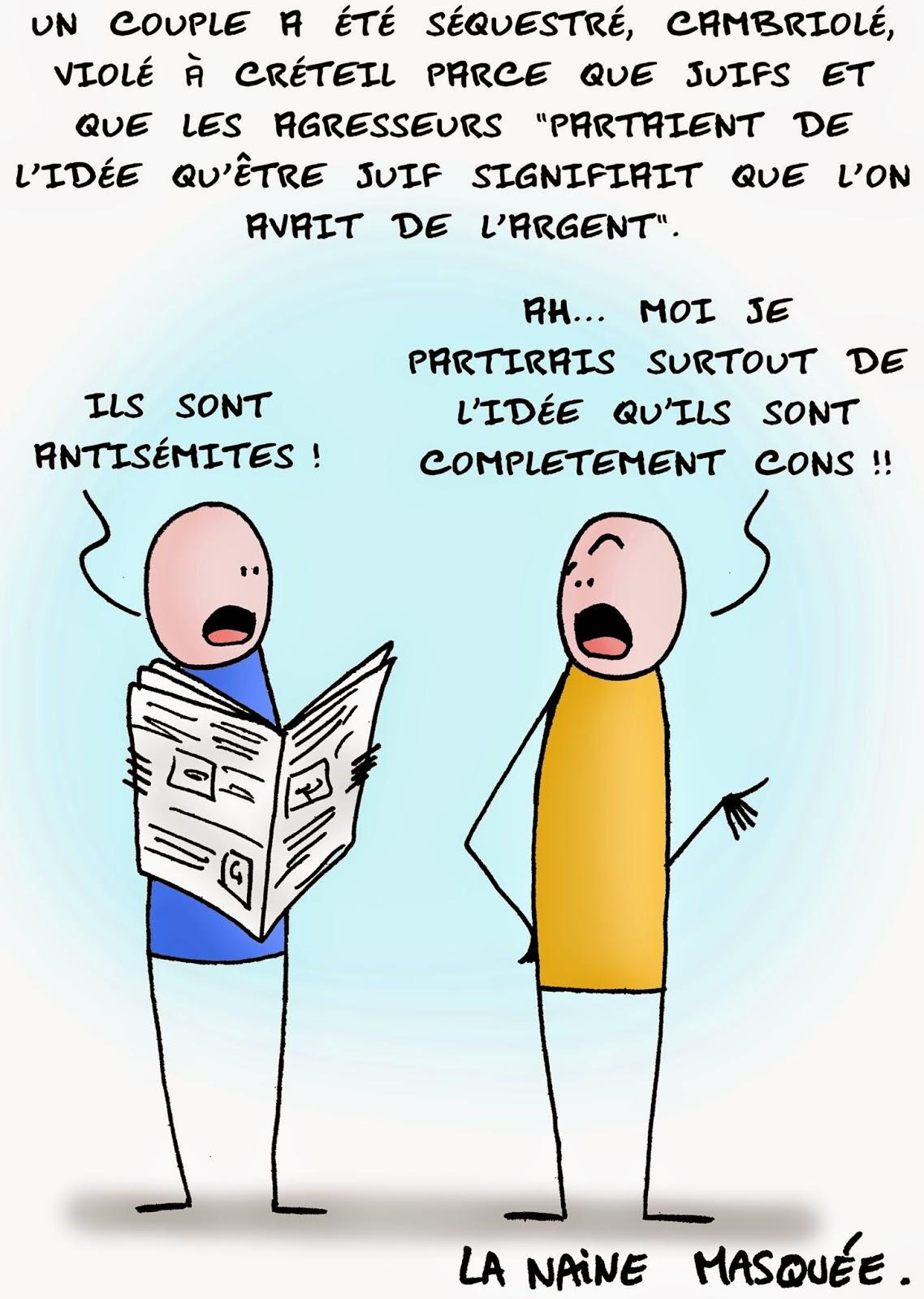 Crétins de Créteil.