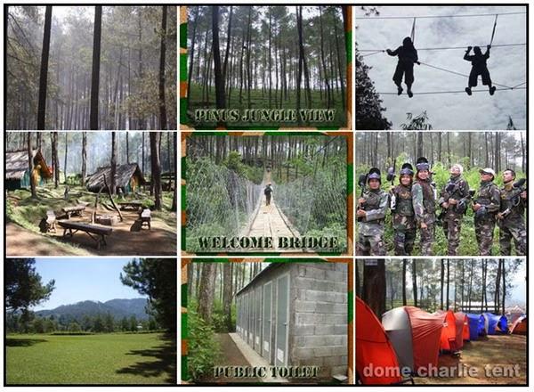 Wisata Alam Outbound Bumi Perkemahan Cikole