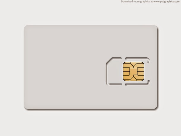 Blank SIM Card PSD