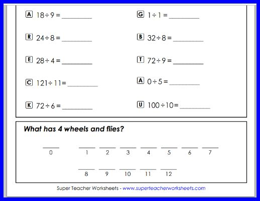 Super Teacher Worksheets Printable Worksheets for Learning – Fractions Super Teacher Worksheets