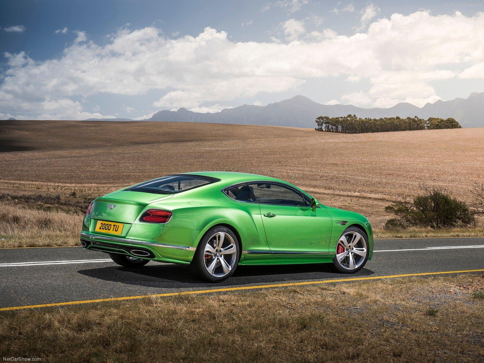 Hình ảnh xe ô tô Bentley Continental GT Speed 2016 & nội ngoại thất