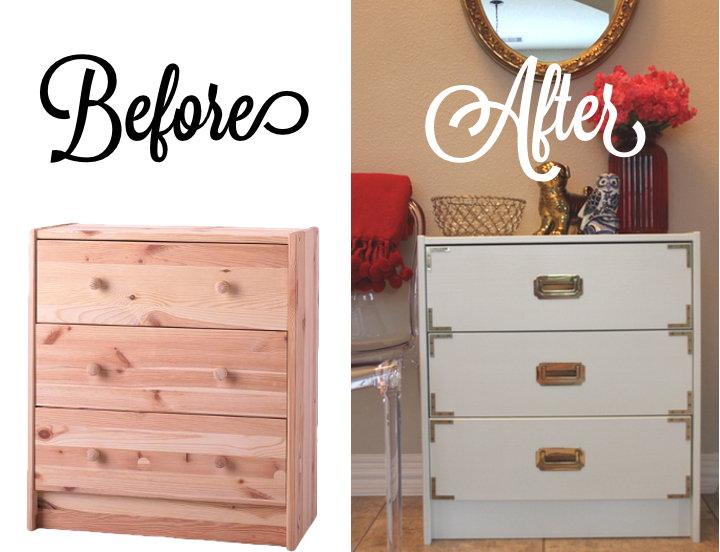 Diy Campaign Chest Ikea Hack