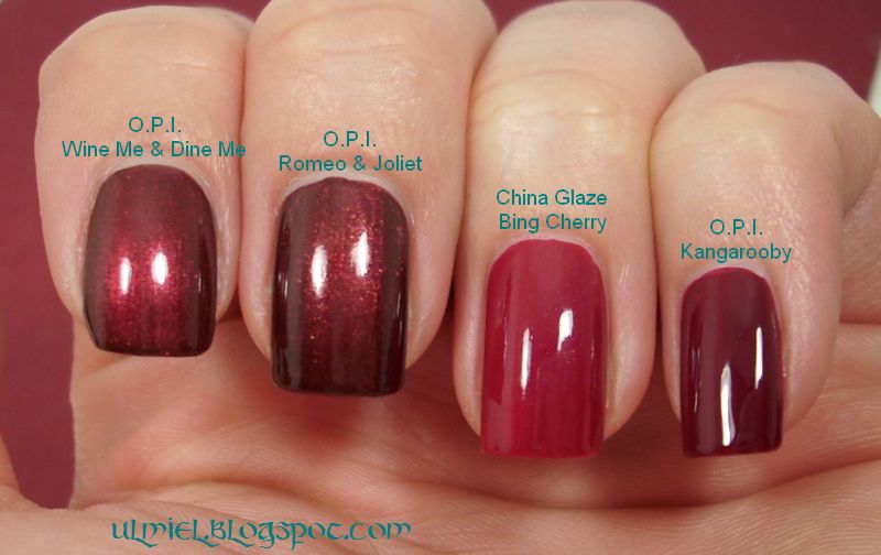 Did someone say nail polish?: Red comparison week - 4th day: two on ...