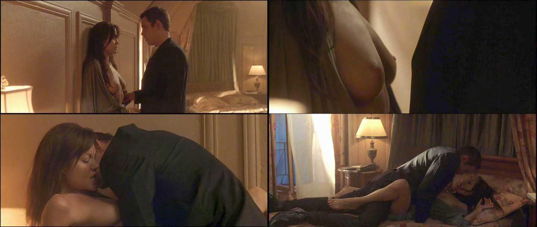 Angelina jolie en tomar vida escena de sexo