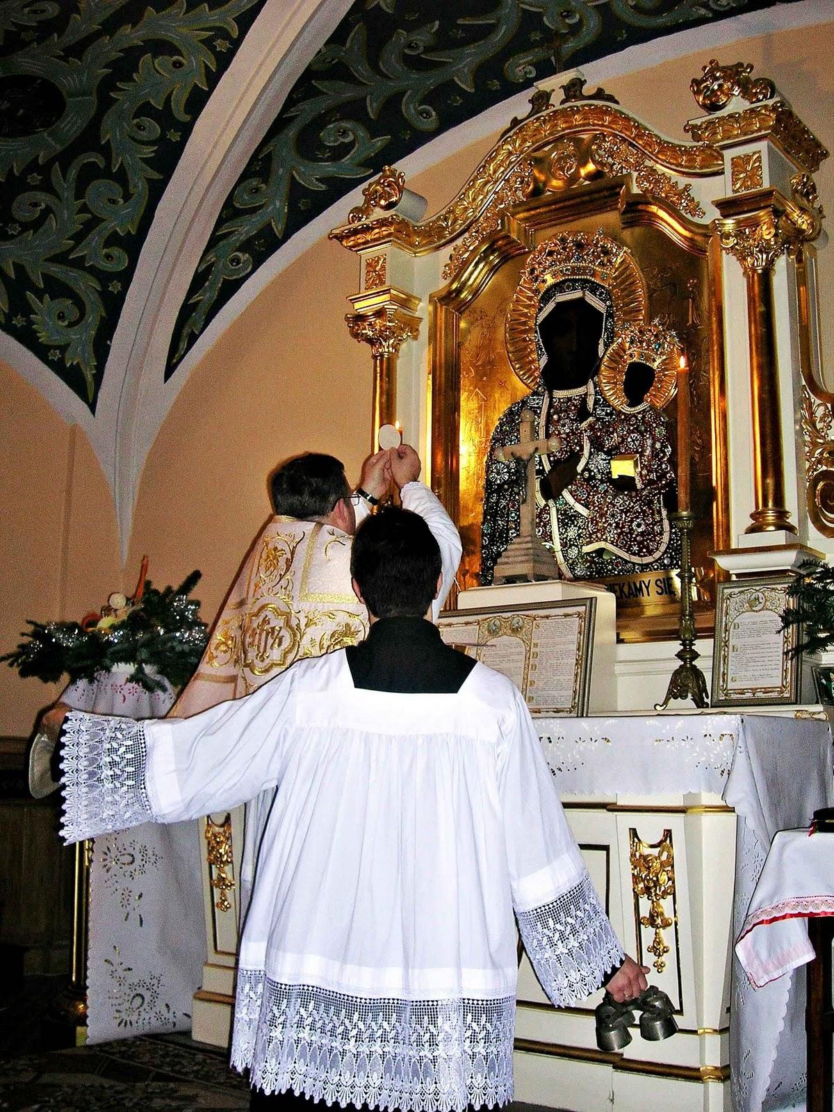 """Przypominamy że u św J³zefa przy ul Ogrodowej 22 """"msza po dawnemu"""" odprawia się regularnie w każdą niedzielę o godz 16 00 oraz w każdą pierwszą sobotę"""