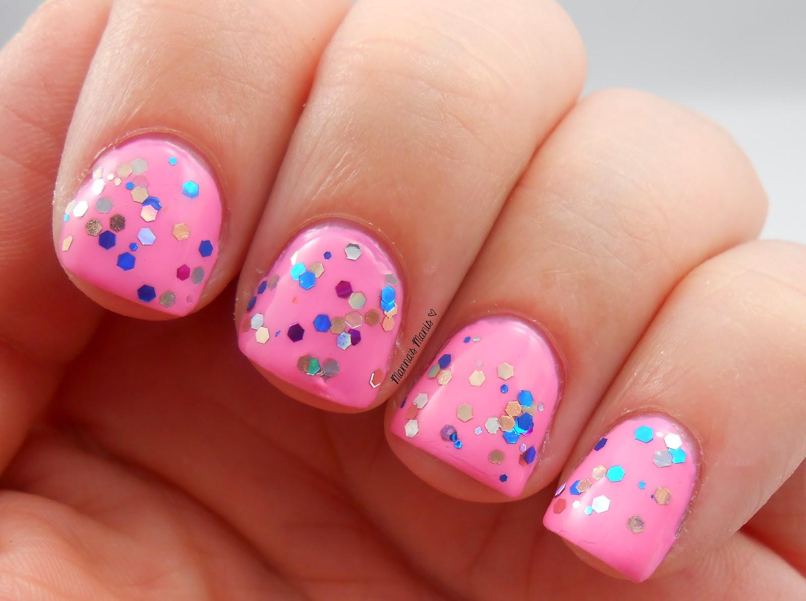 BMC liquid courage, a multicolored glitter nail polish