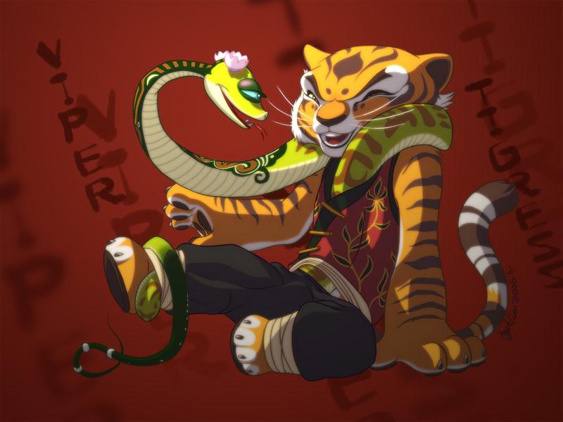 Kung Fu Panda Master Tigress Porn