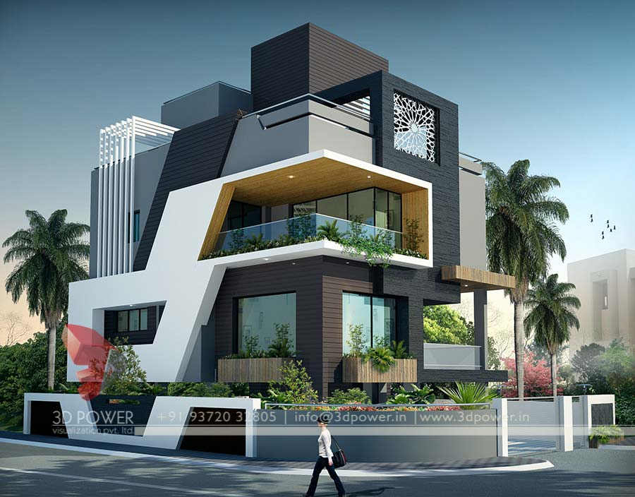 Ultra modern home designs home designs modern home 3d view home design
