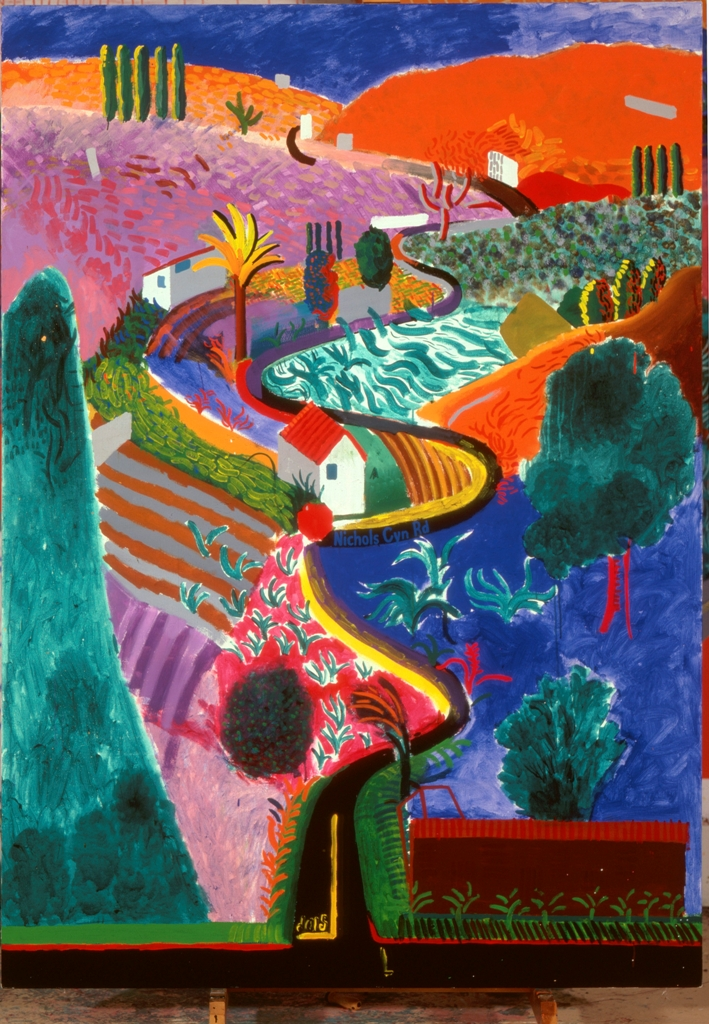 The Style Examiner: David Hockney's 'A Bigger Picture' Exhibition ...