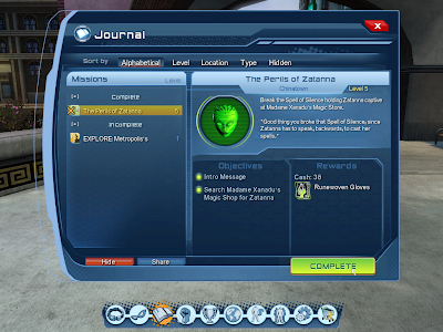 DC Universe Online - Quest Journal