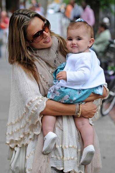 Alessandra Ambrosio and Jamie Mazur's kid Anja
