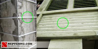 Hiệu quả thi công nẹp GL-20 W, GL-25 W, GL-30W thực tế
