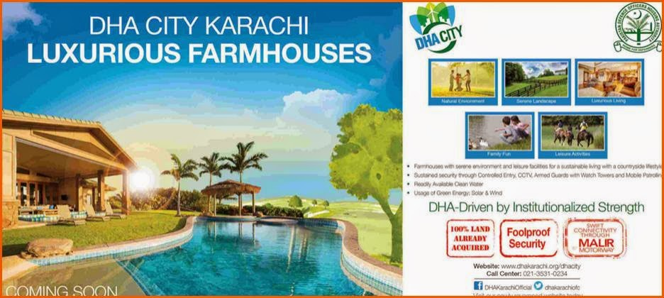 DHA City Karachi | Luxurious Farmhouses Coming Soon